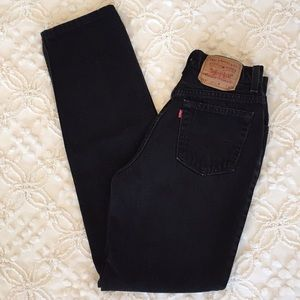 Vintage Levi 512 High Waist Slim Fit Jeans